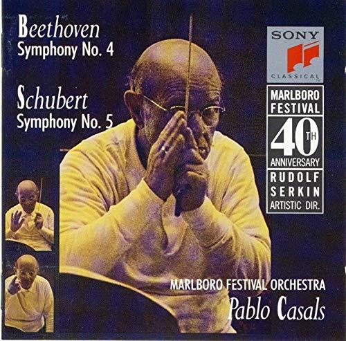 Beethoven Symphony 4 / Schubert Symphony 5