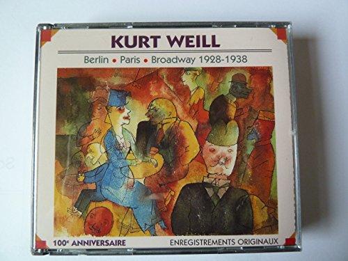 Weill: Berlin/Paris/Broadway