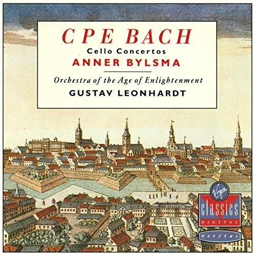 Anner Bylsma - C P E Bach: Cello Concertos