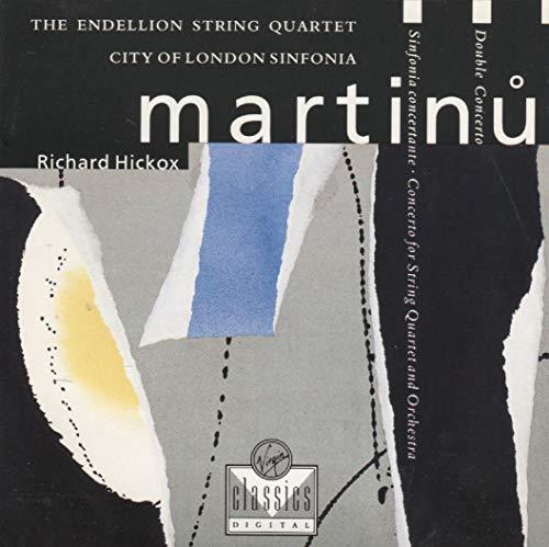 Martinu: Double Concerto / Concerto for String Quartet and Orchestra / Sinfonia concertante