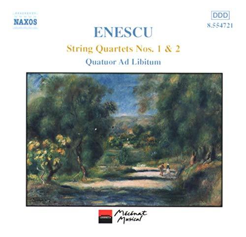 Quatuor Ad Libitum - Enescu: String Quartets 1 & 2
