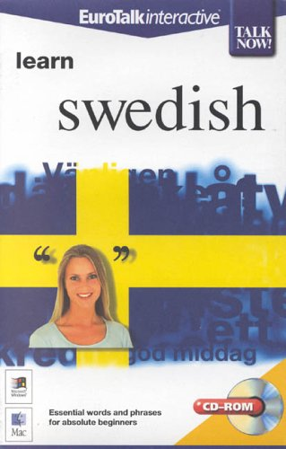 Talk Now! Learn Swedish - Beginning Level By EuroTalk Ltd.