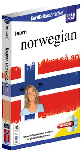 Talk Now Learn Norwegian: Essential Words and Phrases for Absolute Beginners (PC/Mac) By EuroTalk Ltd.