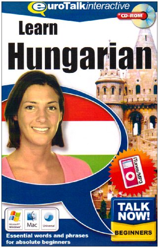Talk Now Learn Hungarian: Essential Words and Phrases for Absolute Beginners (PC/Mac) By EuroTalk Ltd.