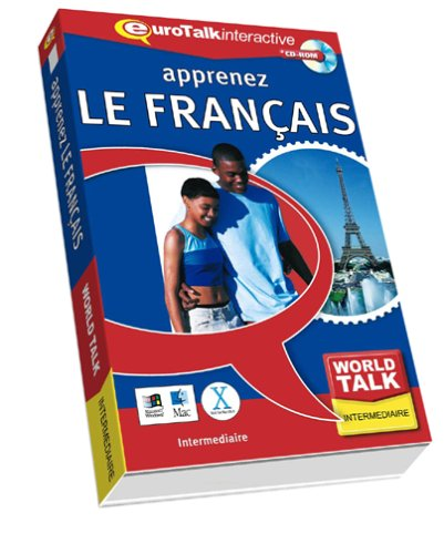 World Talk French: Improve Your Listening and Speaking Skills - Intermediate (PC/Mac) By EuroTalk Ltd.