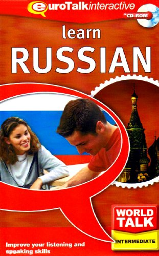 World Talk Learn Russian: Improve Your Listening and Speaking Skills - Intermediate (PC/Mac) By EuroTalk Ltd.