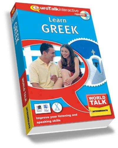 World Talk Greek: Improve Your Listening and Speaking Skills - Intermediate (PC/Mac) By EuroTalk Ltd.