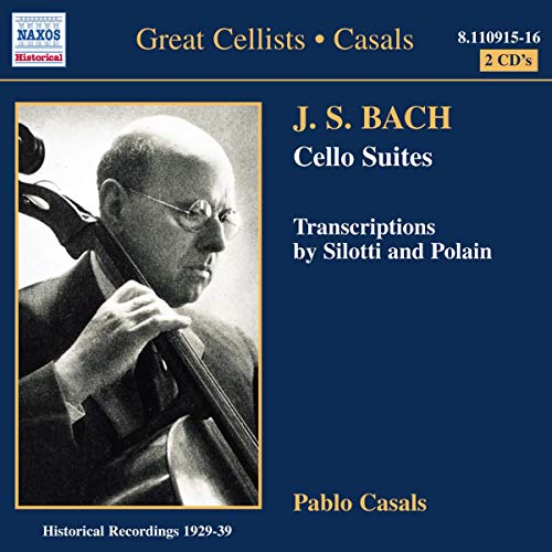 Bach: Cello Suites and Transcriptions