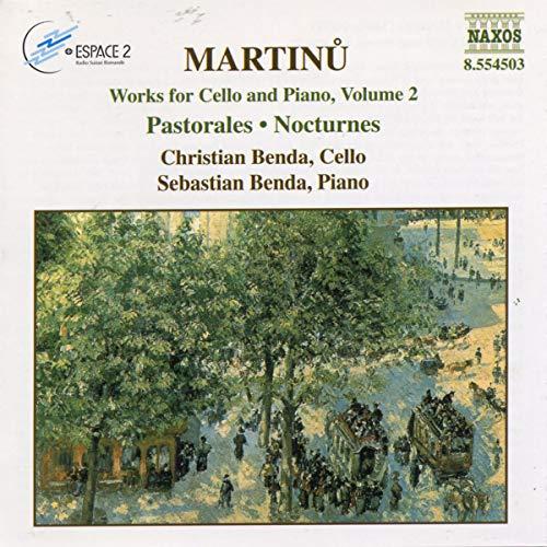 Benda, Sebastian - Martinu: Works for Cello/Piano V2 By Benda, Sebastian