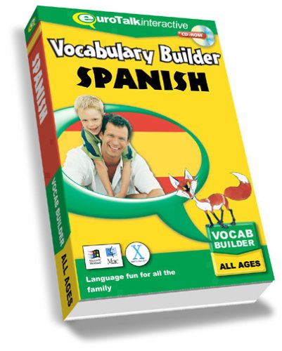 Vocabulary Builder Spanish: Language fun for all the family – All Ages (PC/Mac) By EuroTalk Ltd.