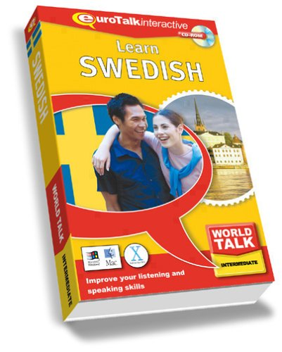 World Talk Learn Swedish: Improve Your Listening and Speaking Skills - Intermediate (PC/Mac) By EuroTalk Ltd.