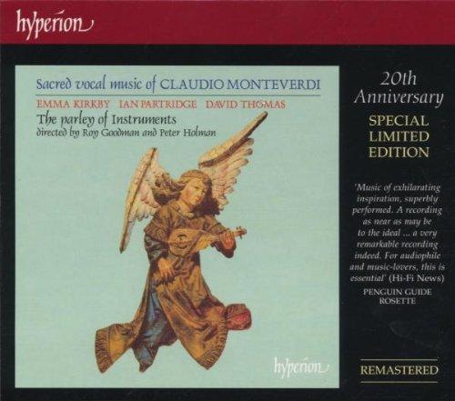 Kirkby:Partridge:Thom - Monteverdi:Sacred Vocal Music By Kirkby:Partridge:Thom
