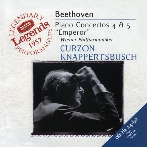 Clifford Curzon - Beethoven: Piano Concertos Nos 4 & 5