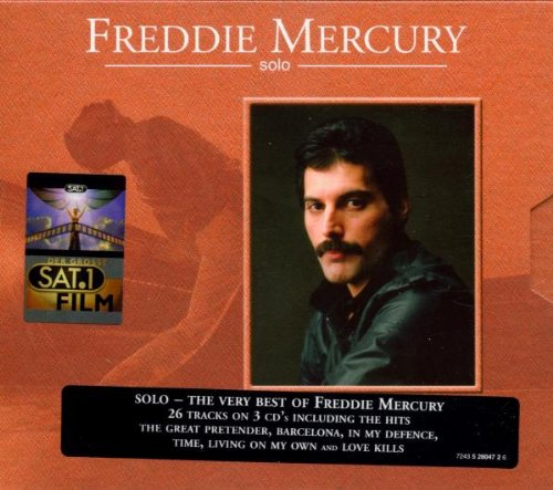 Mercury, Freddie - Solo - The Very Best of Freddie Mercury By Mercury, Freddie