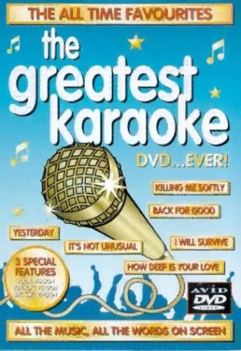 Various - The Greatest Karaoke DVD...Ever!