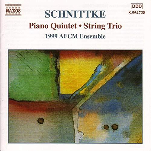 Schnittke: Piano Quintet / String Trio
