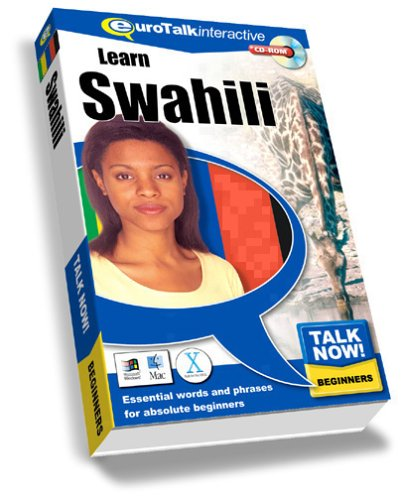 Talk Now Learn Swahili: Essential Words and Phrases for Absolute Beginners (PC/Mac) By EuroTalk Ltd.