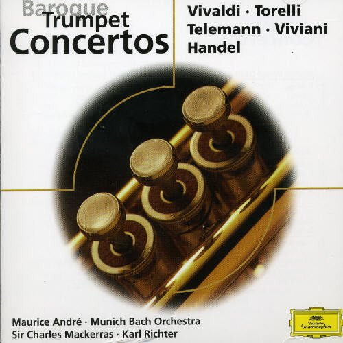 Various Composers - Baroque Trumpet Concertos By Various Composers