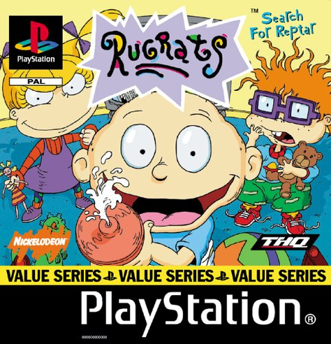 Sony Playstation - Rugrats - Search For Reptar - Value Series (PS)