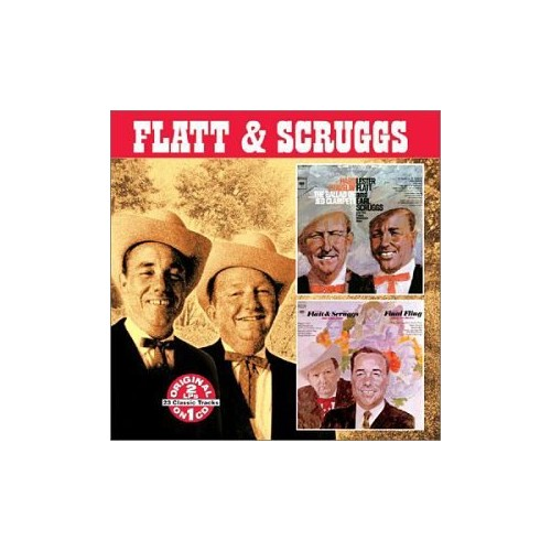 Flatt and Scruggs - Hard Travelin' Featuring the Ballad of Jed Clampett/Final Fling