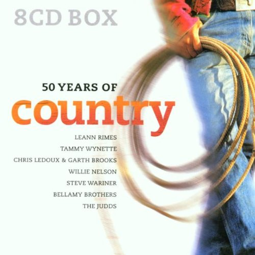 Various Artists - 50 Years of Country (Digibox)