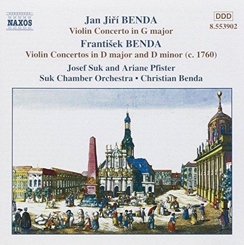 Benda - Violin Concertos