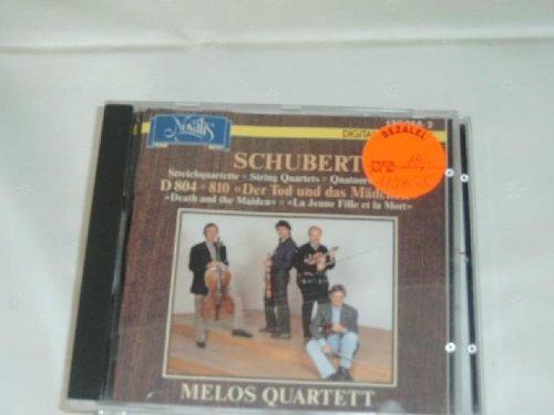 Melos Quartet - Schubert: String Quartets, D804 & 810, Death and the Maiden