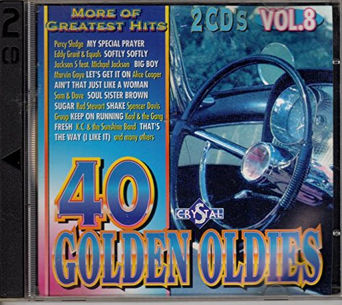 Various - 40 Golden Oldies Crystal Vol 8