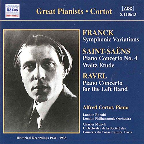 Corot, Alfred - Franck; Ravel; Saint-Saëns - Piano Concertos