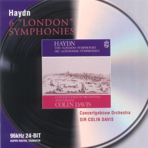 "Colin Davis - Haydn: 6 ""London"" Symphonies"
