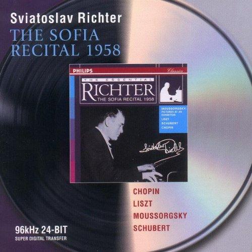 Sviatoslav Richter - Chopin / Liszt / Mussorgsky / Schubert: The Sofia Recital 1958