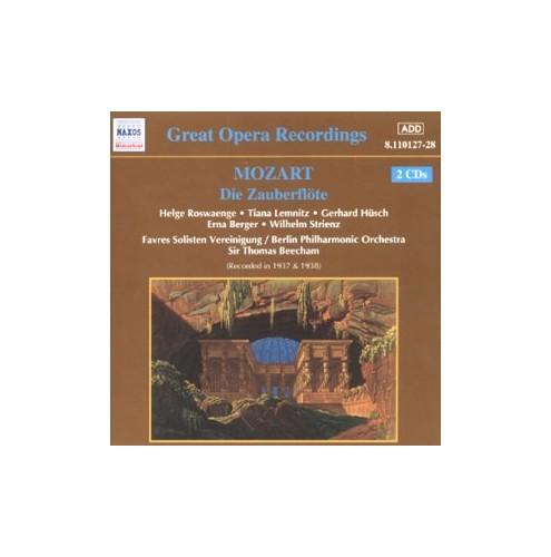 Beecham, Sir Thomas - Mozart - Die Zauberflote (The Magic Flute) By Beecham, Sir Thomas