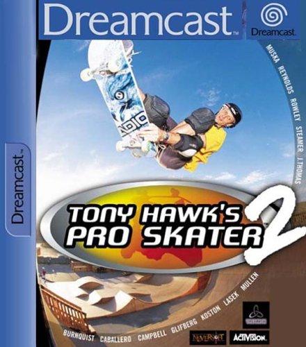 Dreamcast - Tony Hawk Pro Skater 2