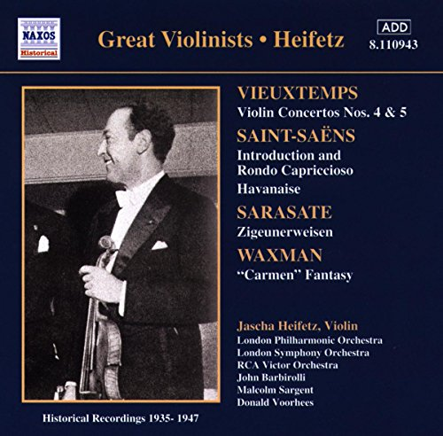 London Symphony Orchestra - Jascha Heifetz - Works for Violin and Orchestra