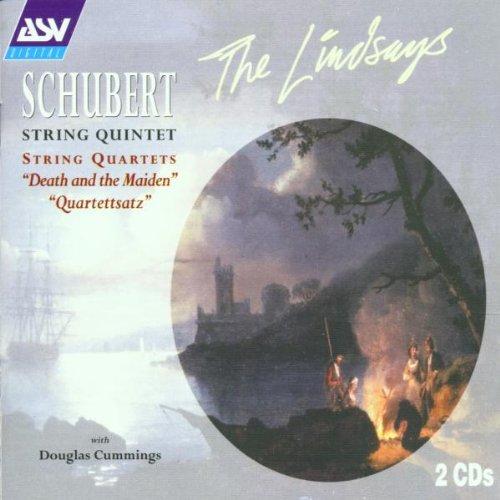 "Lindsays - Schubert: String Quintet in C, D956; String Quartets ""Death and the Maiden"" & ""Quartettsa"