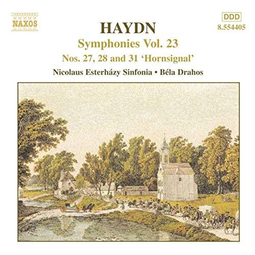 Bela Drahos - Haydn: Symphonies Vol.23