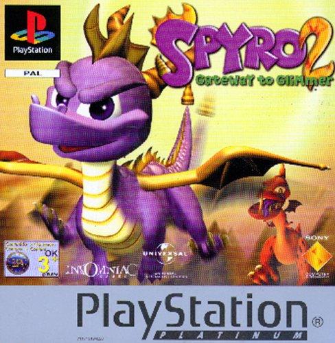 Spyro 2: Gateway to Glimmer Platinum (PS)
