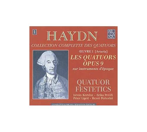 Joseph Haydn - Les Quatuors Op. 9 - Quatour Festetics