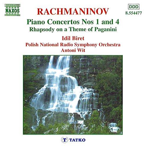 Sergey Rachmaninov - Rachmaninov: Piano Concertos Nos. 1 and 4 (Biret, Polish Nrso, Wit)