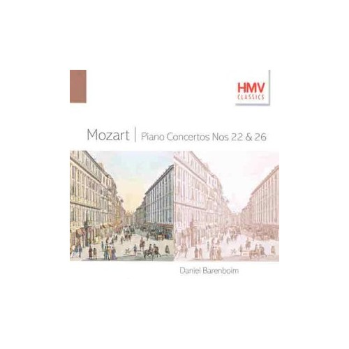 English Chamber Orchestra, Mozart Piano Concertos 22 & 26