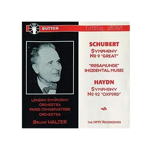 Paris Conservatoire - Schubert: Symphony No.9 / Haydn: Symphony No.92