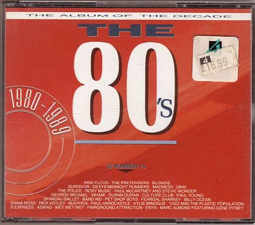 Various - The 80's - The Album Of The Decade - Various 2CD