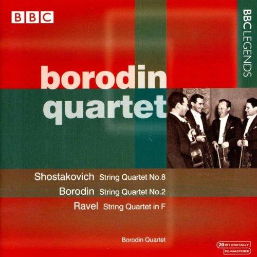 Borodin Qt - Borodin; Ravel; Shostakovich - String Quartets By Borodin Qt