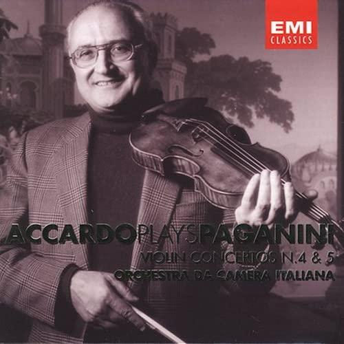 Nicolo Paganini - Accardo Plays Paganini - Violin Concertos 4 & 5