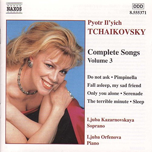 Tchaikovsky: Complete Songs, Vol. 3