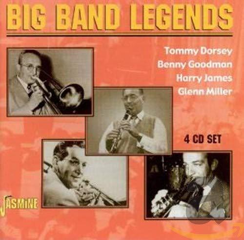 Tommy Dorsey, Benny Goodman, Harry James & Glenn Miller - Big Band Legends