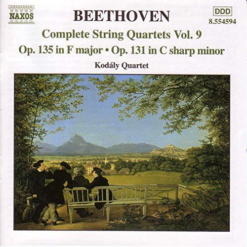 Kodály Quartet - Beethoven: Complete String Quartets, Vol. 9