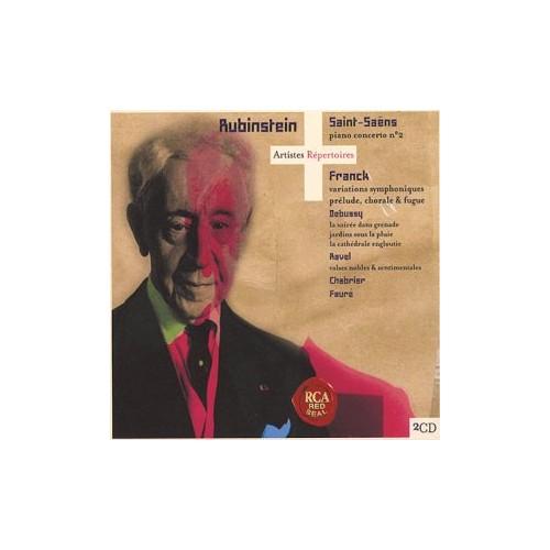 French Piano Music (Rubinstein)