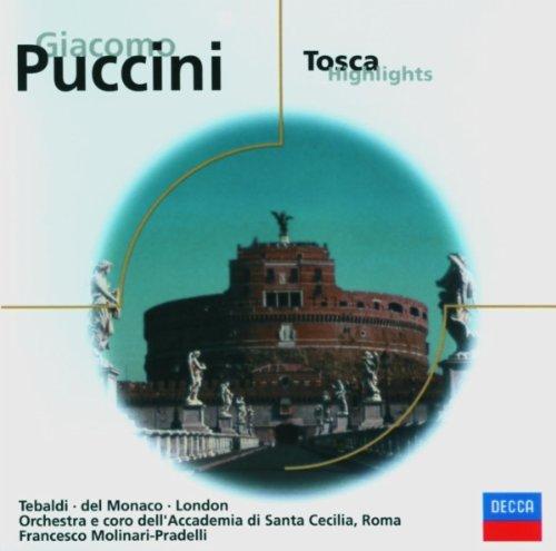 Francesco Molinari-Pradelli - Tosca Highlights (Tebaldi, London Santa Cecilia)