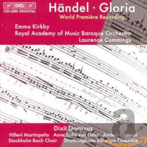 Hillevi Martinpelto - Handel: Gloria; Dixit Dominus /Kirkby · Royal Academy of Music Baroque Orchest